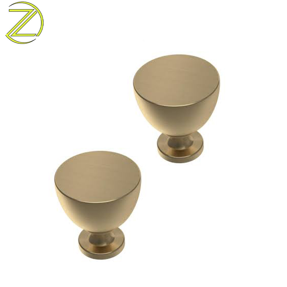 25x25mm brass drawer handle