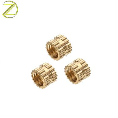 OEM China factory brass threaded inserts M3 M5