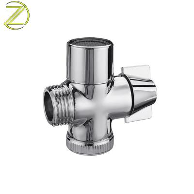 Brass T-adapter Shower Diverter