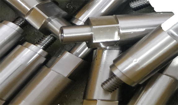 Machining of shaft parts